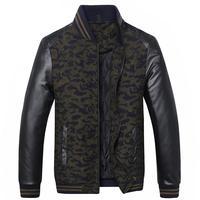 Plus Size 8XL Men Classic Cotton Padded Jacket Autumn Winter Male Multipocket Thicken Parka Warm Windbreak