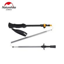 NatureHike 5 Sections Carbon Fiber Portable Ultralight Adjustable Walking Sticks Camping Trekking Poles Hiking Stick 1PCS