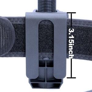 "Image 5 - Nextorch 360 度戦術懐中電灯ホルスター角度回転可能な戦術 duable 懐中電灯ホルダー V5 ため 1 "" 1.25"" 懐中電灯"