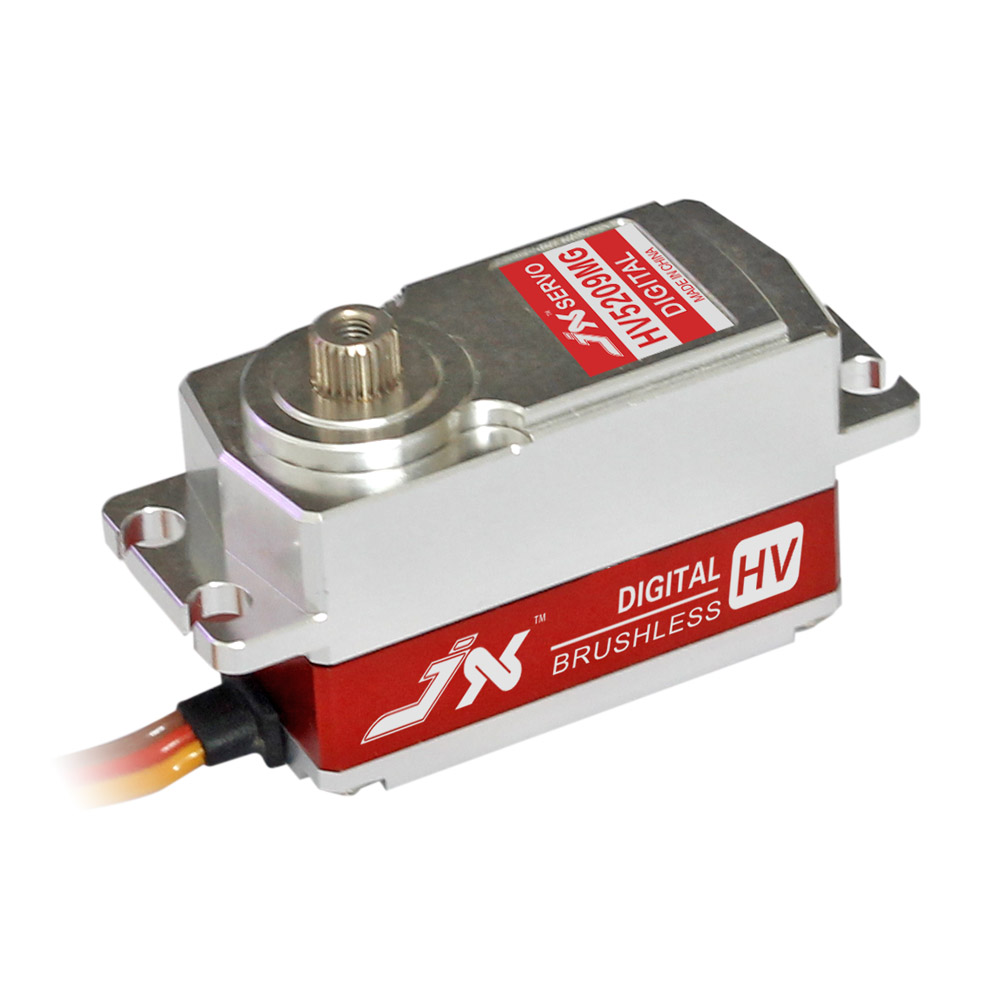 Superior Hobby JX BLS-HV5209MG 26.8mm High Precision Metal Gear CNC Aluminium Shell High Voltage Brushless Digital Short Servo superior hobby jx pdi 6208mg 8kg high precision metal gear digital standard servo