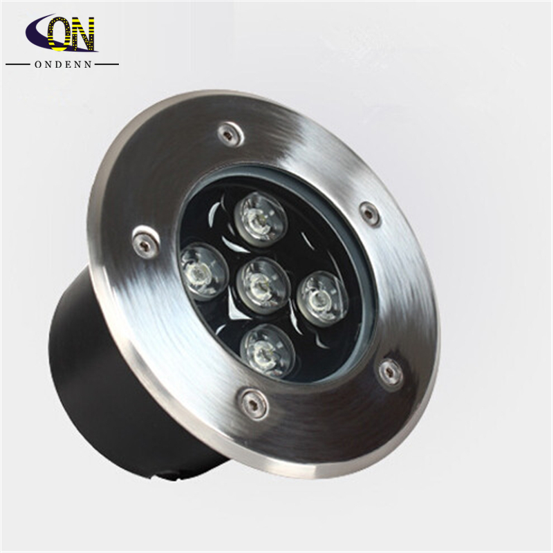 Lights & Lighting Purposeful Free Shipping !10w Ce Rohs Ac85-260v/dc12v Recessed Lighting Outdoor Lamp Led Spot Floor Garden Yard 5*2w Led Underground Light For Improving Blood Circulation