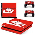 Skin Ps4 console Cover For Playstaion 4 Console PS4 Skin Stickers+ 2Pcs Controller Protective Skins accessory