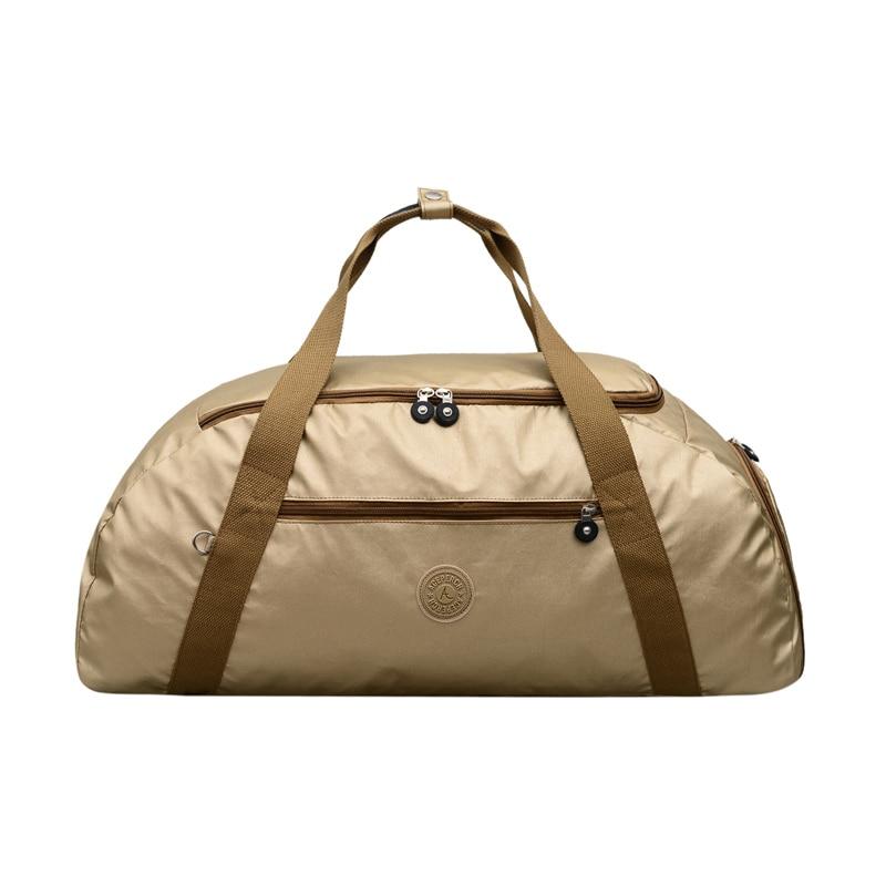 ACEPERCH Girl Large Capacity Travel Bags Women Luggage Bag Nylon Portable Folding Big Original Handbag Tote