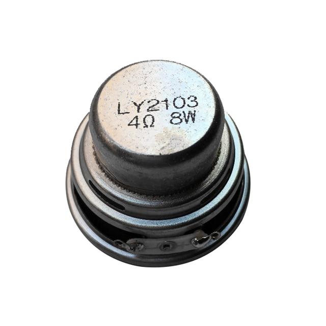 1PCS Full Range Speaker 45mm 18 core 4 ohm 8 W NdFeB magnetic full frequency speaker  DIY Portable Bluetooth Speaker