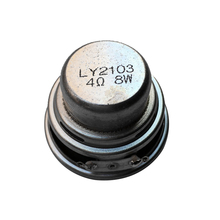 TONLEN 1PCS Full Range Speaker 45mm 18 core 4 ohm 8 W NdFeB magnetic full frequency speaker  DIY Portable Bluetooth