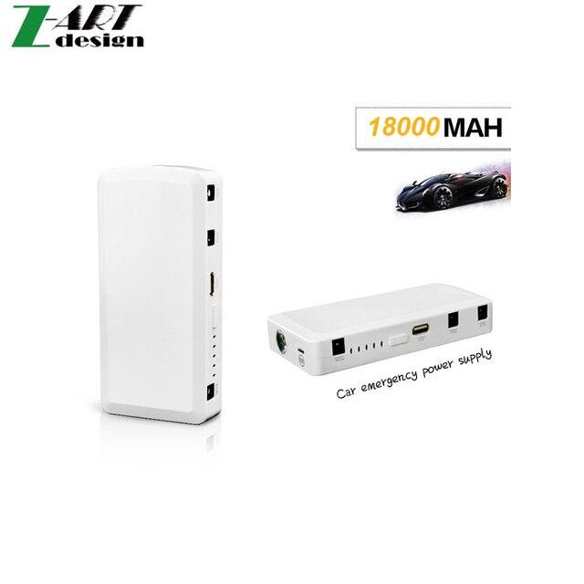 18000mAh Car Jump Starter Auto Emergency Start Power Bank Lipo4 Battery Charger Laptop Mobile Phone arrancador bateria