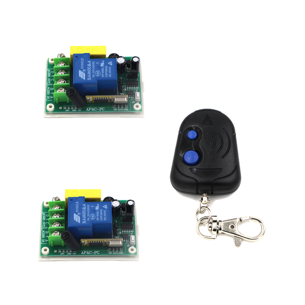 AC 220V 30A 1CH RF Wireless Electric Garage Gate Door Remote Control Switch & Radio Transmitter supplier SKU: 5521