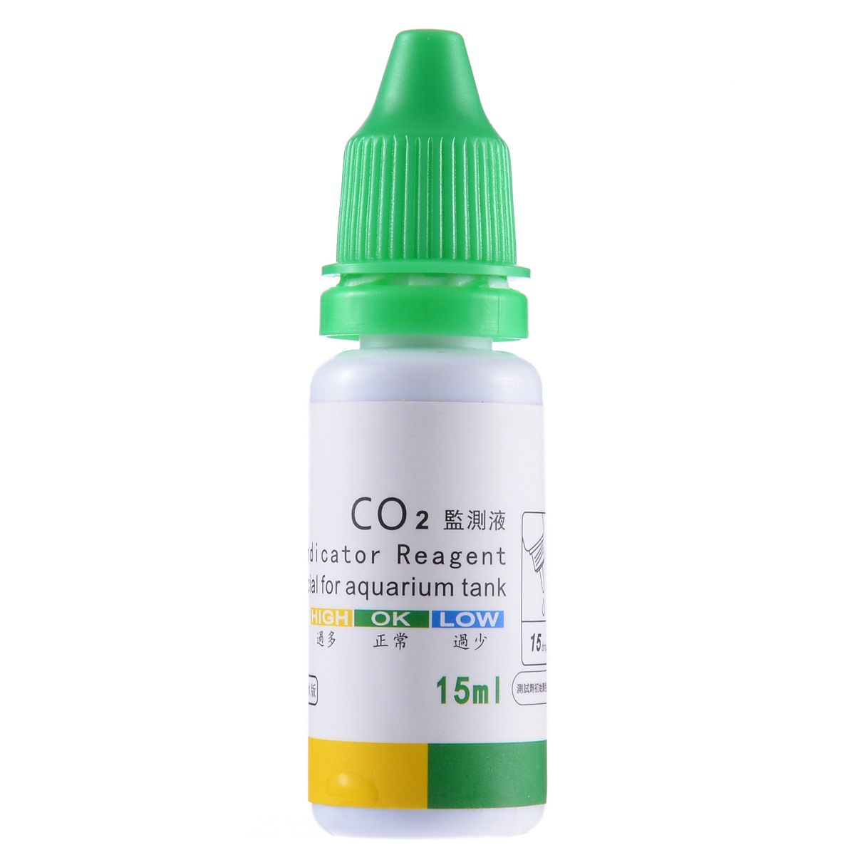 Aquarium CO2 Monitor Glass Drop Carbon Dioxide Ball Checker Tester PH Indicator Fish Tank Water Live Moss Plant Tester