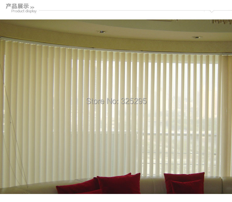 Line Shop Pvc Plastic Shade Blindssolid Window Curtain Vertical