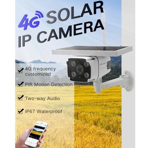 Image 2 - DHL משלוח אלחוטי GSM 4G SIM כרטיס שמש מופעל IP מצלמה מובנה סוללה HD 1080P עמיד למים חיצוני אבטחה CCTV מצלמה YN88