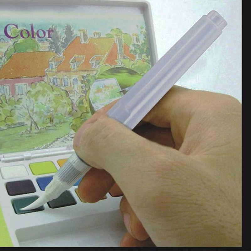 Überlegene 6 Pcs Waterbrush Wasser Tank Kalligraphie Pinsel Stift Aquarell Schreibwaren Büro Schule Liefert
