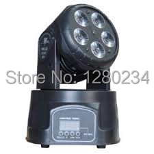Cheap price mini led 5pcs*15W 5 in 1 RGBWA led wash moving head stage lighting effect for bar light disco with dmx control flash 10pcs lot cheap stage light 36 15w 5 in 1 led zoom moving head wash light rgbwy color mixing dmx512 lighting control
