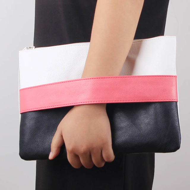 Women's Candy Color Envelope Clutch