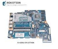 NOKOTION ZRMAA LA A481P K000151590 для Toshiba Satellite E55 E55 A M50 M50 A Материнская плата ноутбука I5 4200U Процессор GT740M 2 ГБ
