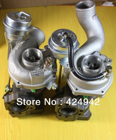 K04 53049700025 53049700026 078145703M turbocompressore turbo per turbocompressore AUDI RS4 2.7i Turbo Quattro 2.7L P ASJ / AZR 30v 380HP