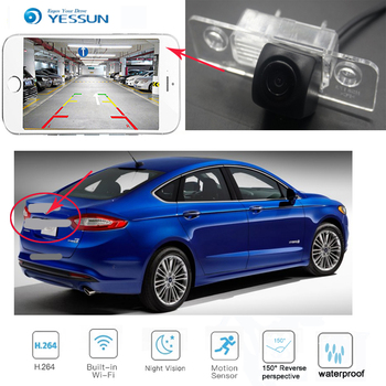 YESSUN New Ariival car HD Parking Reverse wireless Camera  for  Ford Fusion For Mondeo 2013~2018 Waterproof HD Video