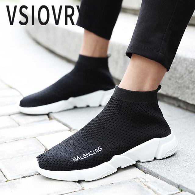 Estate Da Donne Tessuto Fly 2018 Vsiovry Sneakers Calze Uomo Scarpe 8Pxw8qSZ