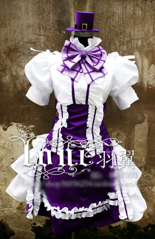 Hot Anime Macross F Gemenon Sheryl Nome Cosplay Costume Halloween Purple Dress Uniform Any Size Free Shipping