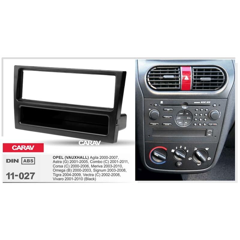 Vauxhall Corsa Vectra Vivaro Double Din Fascia Panel Adapter Plate Cage Kit
