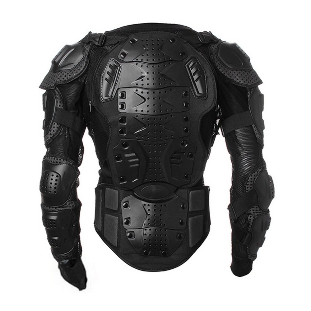 Motocross Dirt Bike Armure Complète Veste Poitrine Épaule Coude En Plastique Couverture Quad Moto Protéger Costume S/M/ l/XL/XXL/XXXL