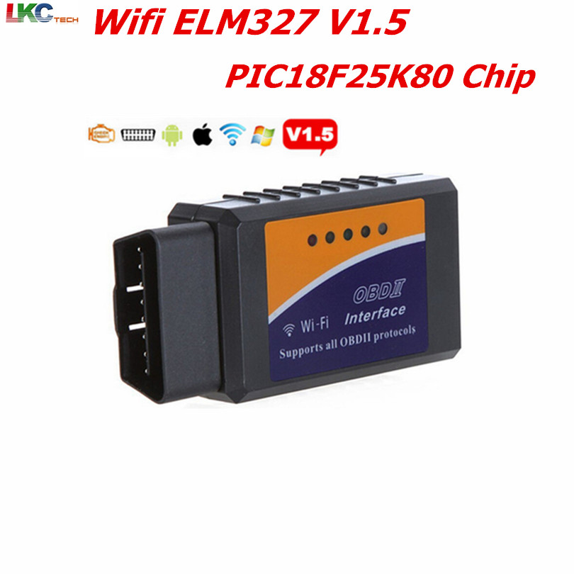 A++ Quality Super Mini ELM327 PIC18F25K80 V1.5 Bluetooth /wifi OBD2 Auto Diagnostic Scanner Tool elm327 wifi Android/iOS/Windows ...
