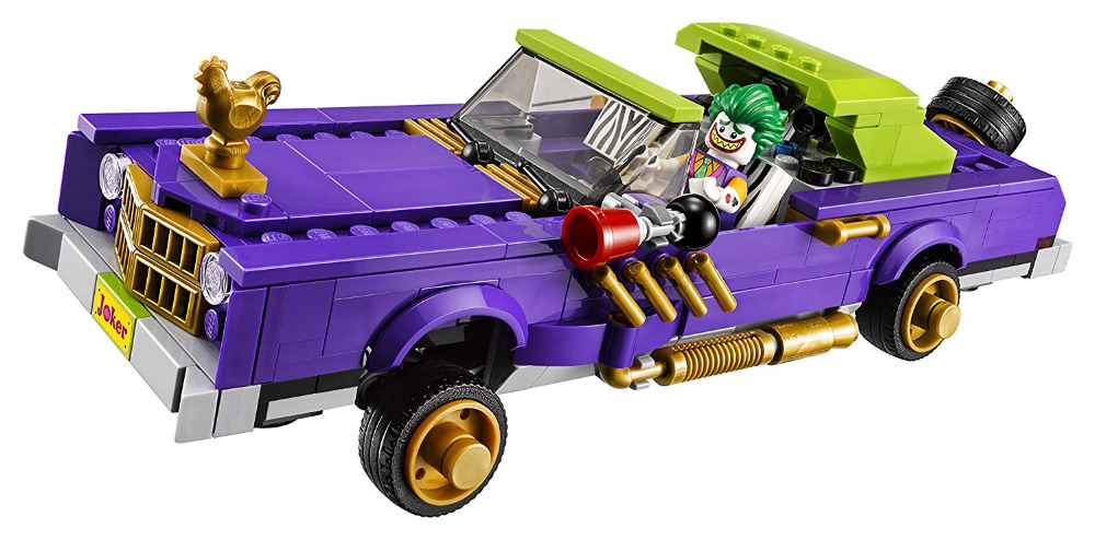 LEPIN Batman Series The Joker Notorious Lowrider Building Blocks Bricks Movie Model Kids Toys Marvel Compatible Legoe lepin 07056 775pcs super heroes movie blocks the scuttler toys for children building blocks compatible legoe batman 70908