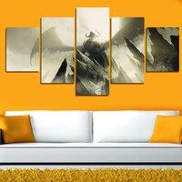 5 Painel de Parede Arte Abstrata Moderna da Imagem Da Lona Retratos Da Parede Arte Pinturas de Paisagem Bat Impressão Sobre Tela (Sem Moldura) presente