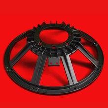 I Key Buy 15 Inch DIY Subwoofer Frame Basket 2Pcs/lot Aluminum Speakers Baskets Black