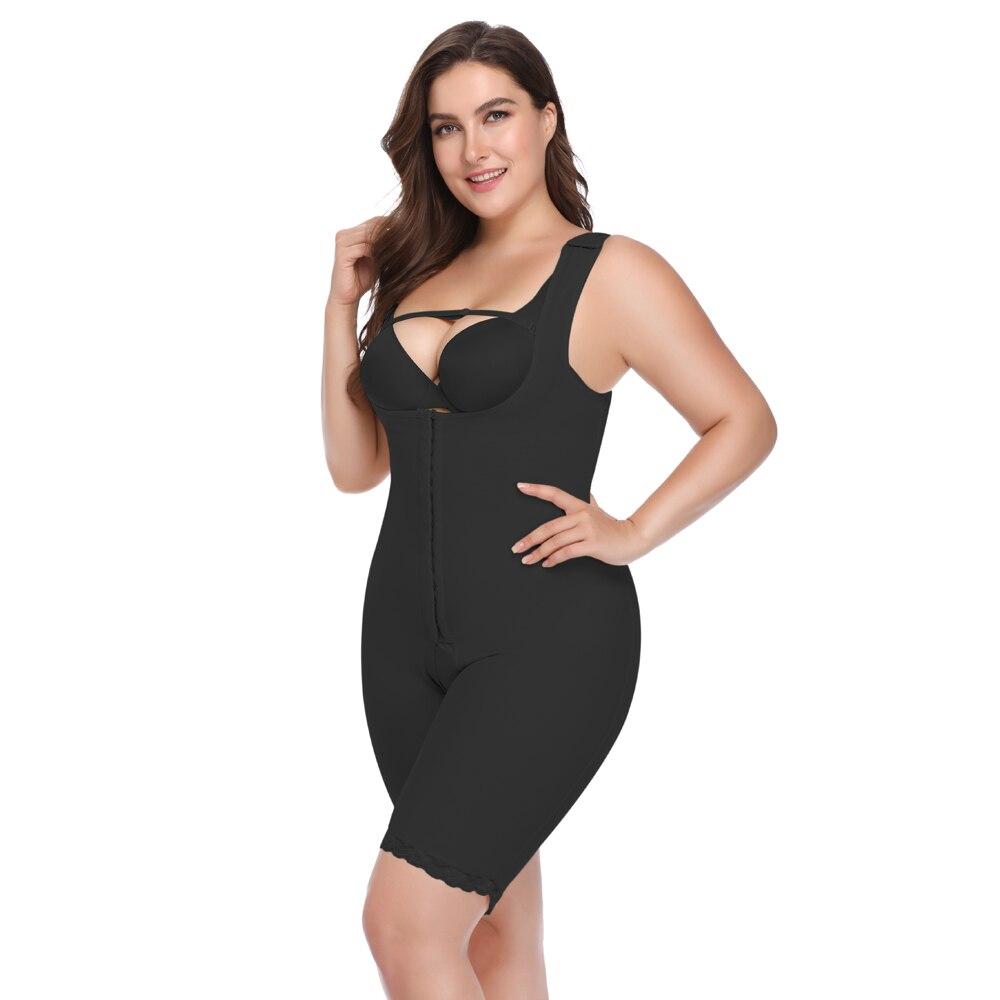 00e33d9c645e4 Plus Size Slimming Women Waist Trainer Body Shaper Underbust Bodysuits Modeling  Strap Women Push Up Bodysuit Shapewear 5XL 6XL