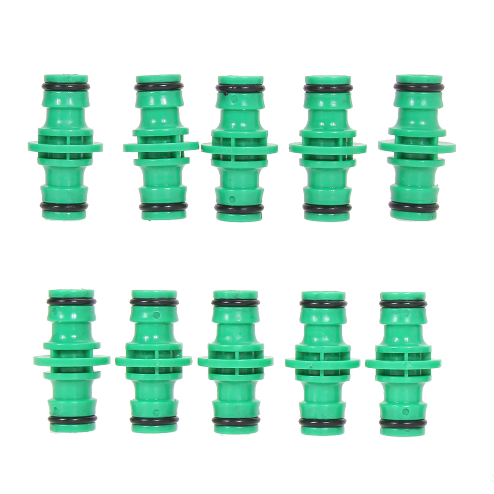 ROBESBON 10Pcs/lot Pipe Fitting Connector Hose Watering