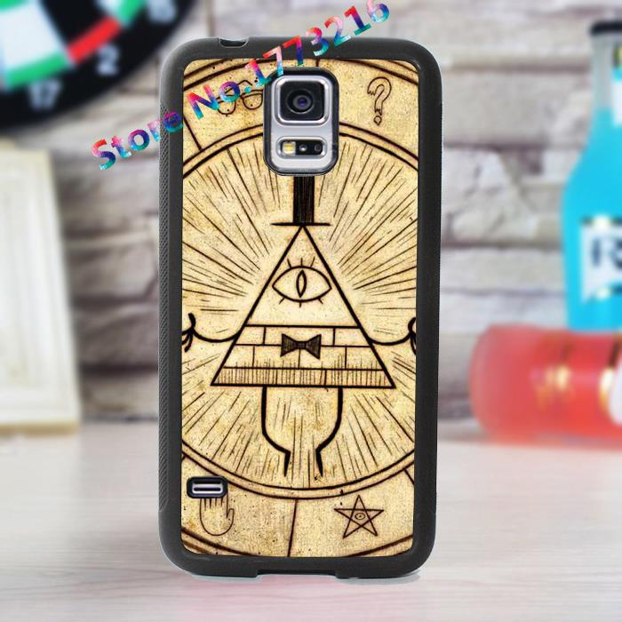 gravity falls 3 fashion cover case for samsung galaxy s3 s4 s5 s6 s7 s6 edge s7 edge note 3 note 4 note 5 *km89