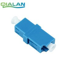 LC/UPC to Adapter Simplex Singlemode Optical Coupler Plastic Flange Ftth LC Fiber Optic Connector