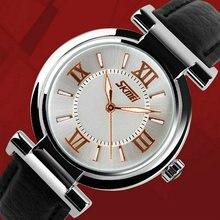 Дамы fashion часы последние с ночная водостойкой кожи женщин леди relogio feminino montre femme Кварцевые наручные часы