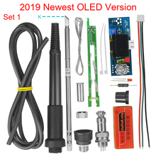 Electric Unit Digital Soldering Iron Station Temperature Controller DIY Kits for HAKKO T12 Handle OLED vibration switch T12 952