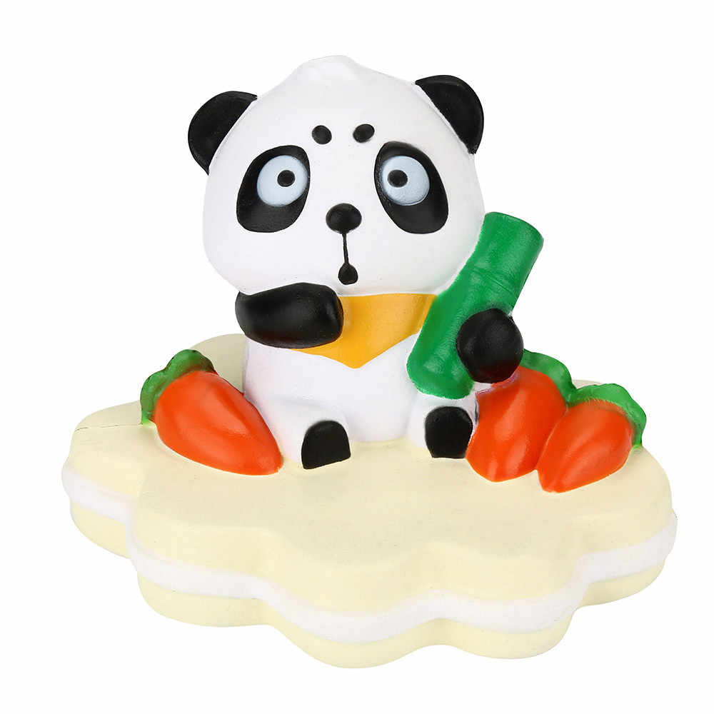Squish Antistress Cake Squeeze Soft Bamboo Panda Stress Reliever Slow Rising Cream Stress Reliever Scented Anti Stress MA27f