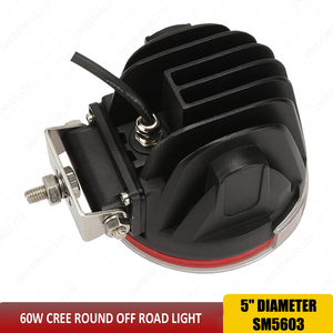 Image 5 - LED Çalışma Işığı 5 inç Combo Işık 60 W offroad 4x4 Led Spot Sel Sürüş Çalışma Işığı SUV Kamyon Tekne 12 V 24 V SUV ATV x1