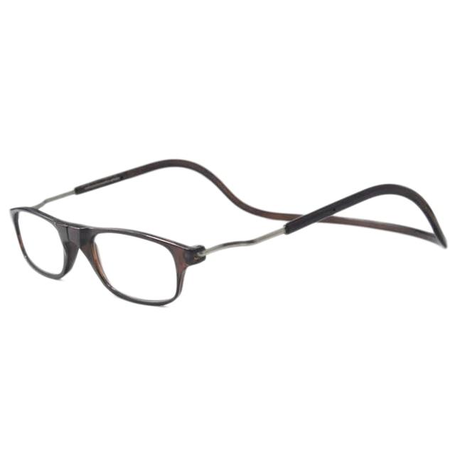New Folding Magnets magnifying reading glasses magnetic Front Connect unisex eyeglasses hang folding Wholesale