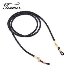 Teamer 79 солнцезащитные очки ремешок ожерелье оплетка кожа очки цепь бисером шнур очки для чтения очки аксессуары