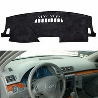 For Audi A4 S4 Avant B6 B7 Flannel Dashmat Dashboard Covers Dash Pads Car Mat Carpet Sunshade Cover 2001 2004 2005 2006 2007