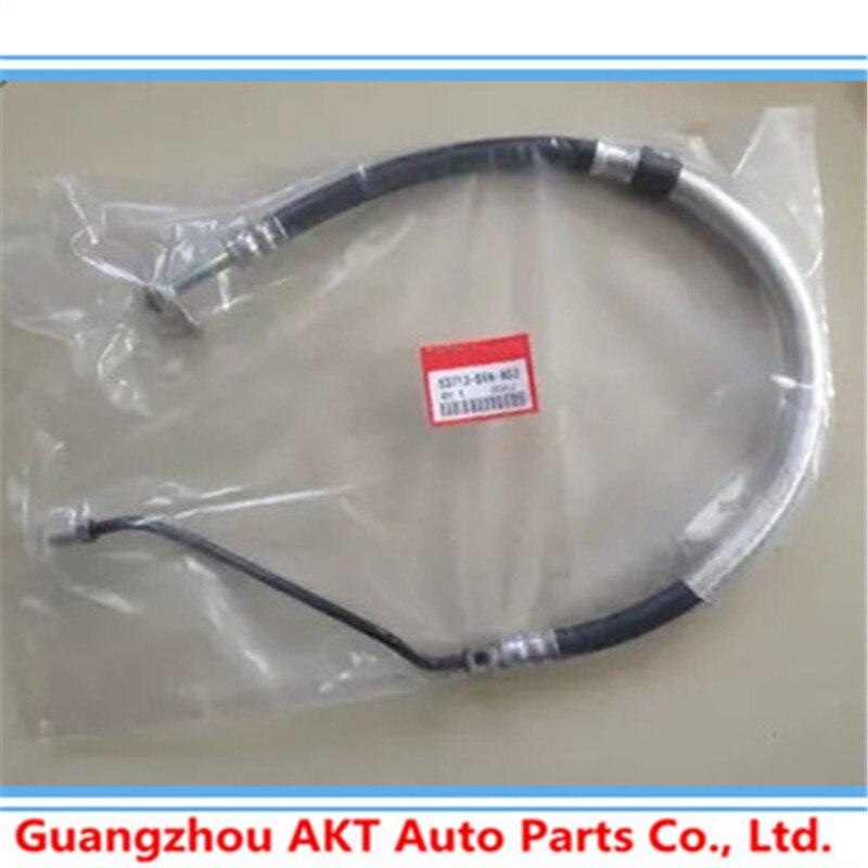 Power Steering Hose Power Steering Feed Pressure Hose For CRV 02-06 RD5 Oil Tube Engine Oil Pump ABS Oil Tube OEM:53713-S9A-A03