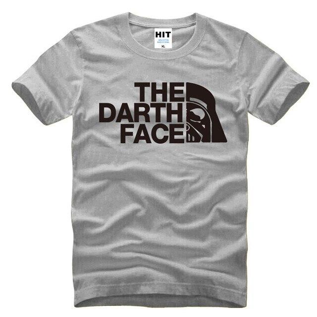 Filme de Star Wars Darth Vader T-Shirt Dos Homens da Novidade T Camisa homens 2016 Novo de Algodão de Manga Curta Casuais Top Tee Camisetas Hombre