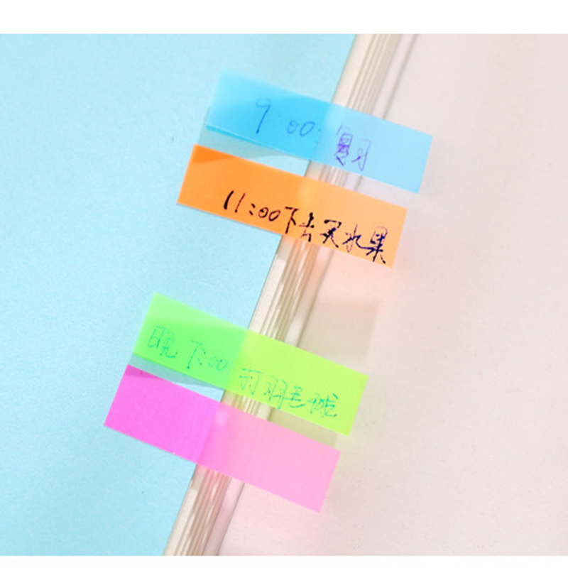 Kawaii Candy Color Sticky Notes Stationery Office Supplies Post It Diy School Stationery Scrapbooking
