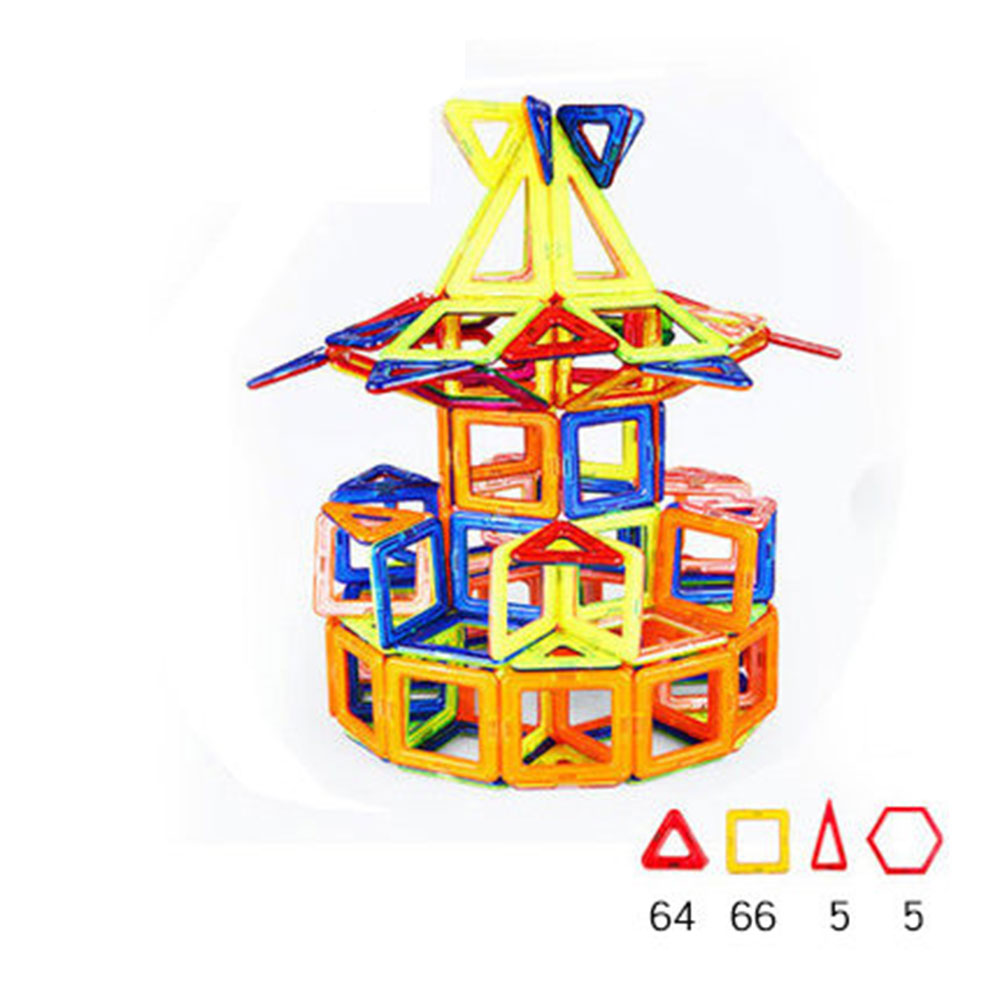 Carousel Shape Magnetic Designer Building Blocks Model & Building Toys Brick Enlighten Bricks Magnetic Toys for Children small car shape magnetic designer building blocks model