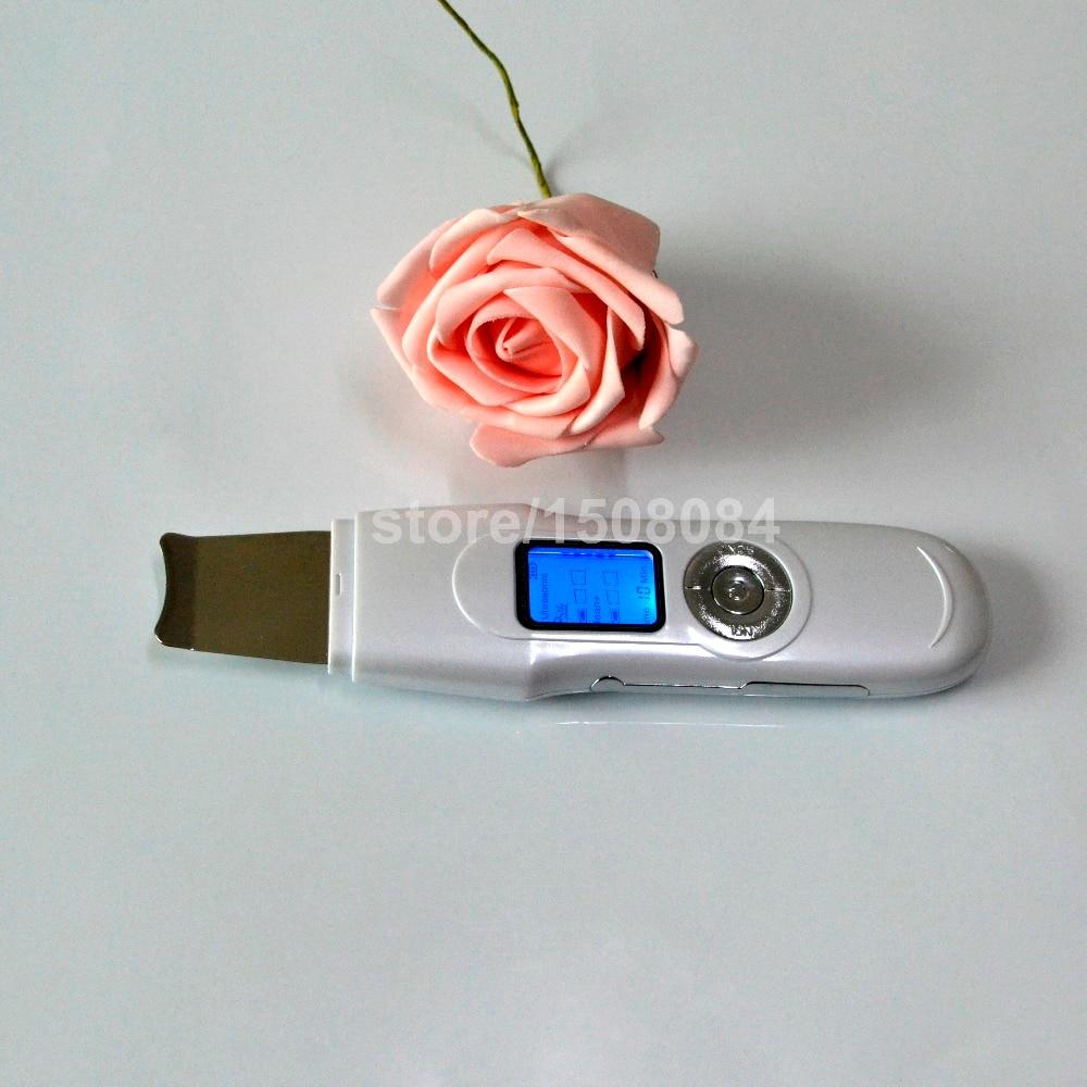 Hot Koop EMS Sonic Professionele Facial Massage Cleaner Exfoliator Peeling Verwijderen Ance Rimpel Porie + Charmante Roze Comestic Borstel - 4