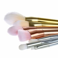 7pcs professional foundation powder eyeshadow brush face fantasy makeup brush rose golden makeup brush beauty tool.jpg 200x200
