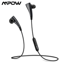 Mpow MBH31B Magneto Bluetooth Headphones Wearable Wireless Earphone With Microphone 7 Hours Playing Time Earbuds For iPhone X/8