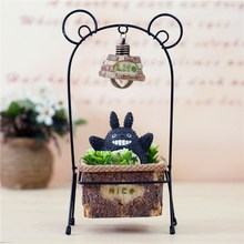 Totoro hand do pot lights Students present wrought iron small night lamp decoration furnishing articles(China)