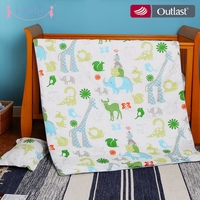 I Baby Baby Bedding Getting Together In Jungle 3PCS Printed Crib Bedding For Girl Boy