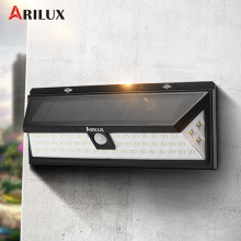 ARILUX AL-SL10 6W PIR Motion Sensor 54 LED Solar Light Solar Power Outdoor Garden Light Waterproof Pathway Wall Lamp