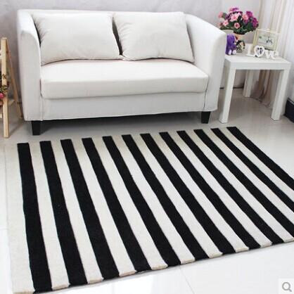 acrlico raya alfombra tapete alfombra alfombras para una moderna sala de estar de alfombras tapetes y